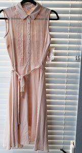 Sheer Blush Nanette Lepore Dress